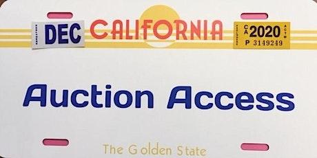 San Jose CoPart Salvage Auto Auction School tickets