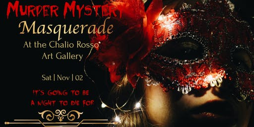 Murder Mystery Masquerade -Halloween Party
