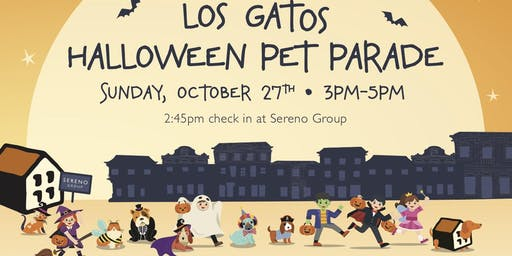 Los Gatos Halloween Pet  & Kids Parade