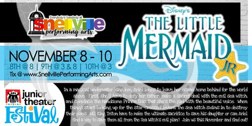 Snellville Performing Arts presents Disney's The Little Mermaid, Jr