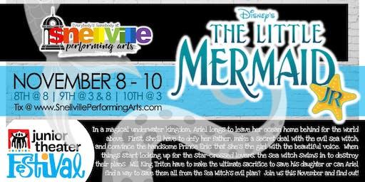 Snellville Performing Arts presents Disney's The Little Mermaid, Jr