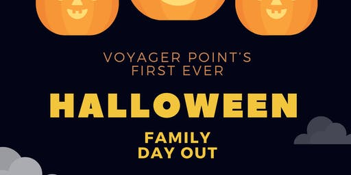 Voyager point Halloween family day out