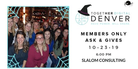 Together Digital Denver Halloween Members ONLY Ask & Gives: Let's Talk CCPA tickets