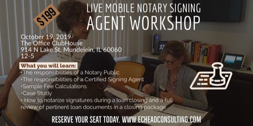Illinois Mobile Notary Signing Agent Workshop