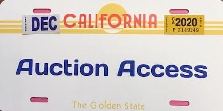 Martinez CoPart Salvage Auto Auction School tickets