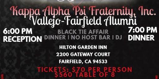 Vallejo/Fairfield Alumni Black and White  Ball