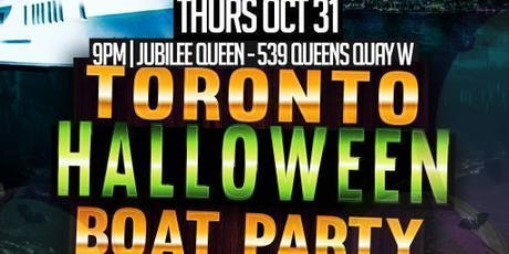 THE HAUNTED SHIP HALLOWEEN BOAT PARTY 2019 TORONTO | OCT 31ST tickets