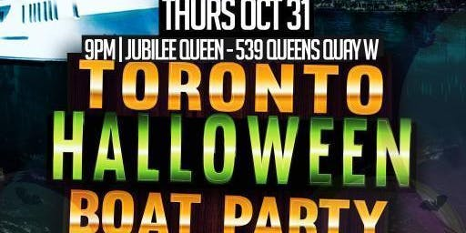 THE HAUNTED SHIP HALLOWEEN BOAT PARTY 2019 TORONTO | OCT 31ST
