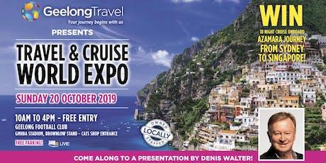 Geelong Travel & Cruise World Expo tickets