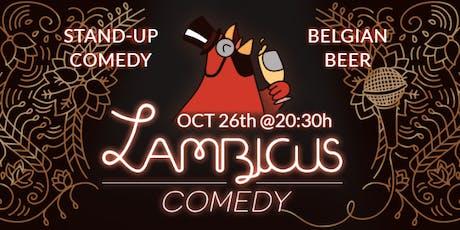 Lambicus Comedy Show #2 entradas