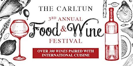 The Carltun Food & Wine Festival tickets