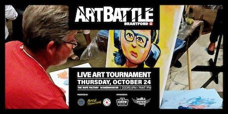 Art Battle Brantford - October 24, 2019 tickets