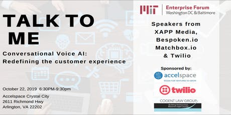 Talk To Me:  Conversational Voice AI In Business & Public Sector tickets