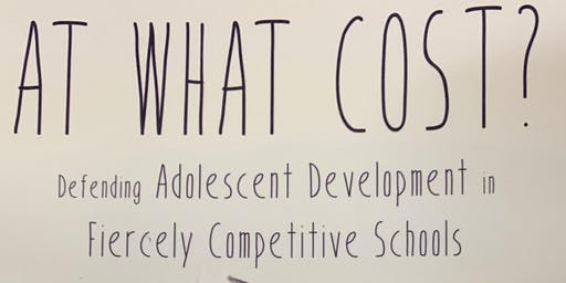 At what cost? Defending Adolescent Development by David Gleason