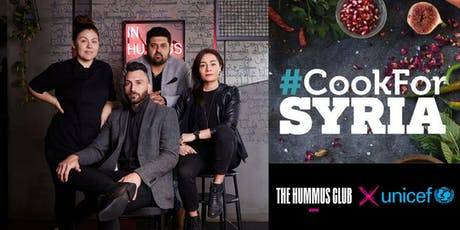 THC X COOK FOR SYRIA WA EVENT DINNER tickets