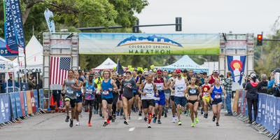 2020 Colorado Springs Marathon presented by Centura Orthopedics