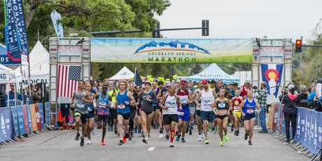 2020 Colorado Springs Marathon presented by Centura Orthopedics tickets