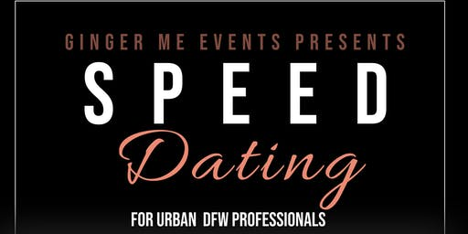Ginger Me Events Presents Speed Dating For Black Professional Singles