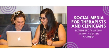 Social Media for Therapists and Clinicians tickets