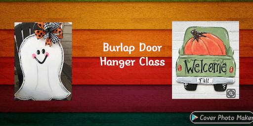 Burlap Door Hanger Class