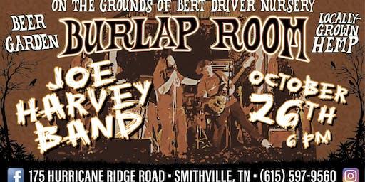 Joe Harvey Band at The Burlap Room