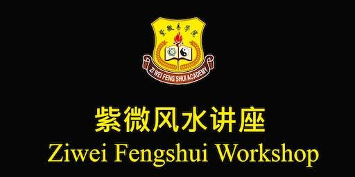 Ziwei Doushu Fengshui Introductory Workshop 紫微斗数 风水中文讲习班