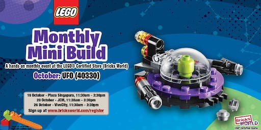 LEGO® Monthly Mini Build (October 2019) - LEGO® Jem