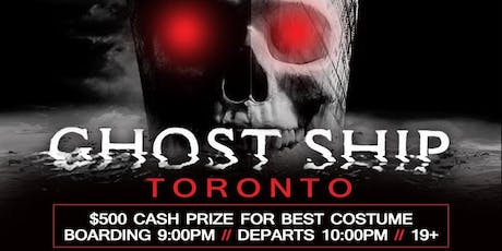 Ghost Ship Toronto//October 26th @ tickets