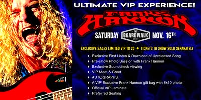 FRANK HANNON'S ULTIMATE VIP EXPERIENCE!