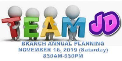 Branch Annual Planning