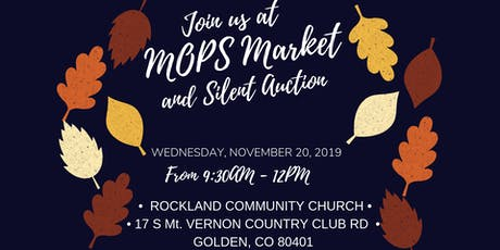 MOPS Market - Silent Auction and Brunch tickets