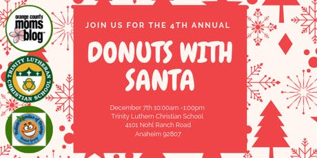 Orange County Moms Blog Donuts with Santa - Anaheim Hills  tickets