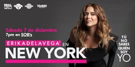 """Erika de La Vega """"Tu no sabes quién soy yo"""" - New York City, NY tickets"""