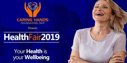 Caring Hands Foundation, NFP Presents Health Fair 2019
