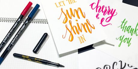 Hand Lettering + Calligraphy Workshop tickets