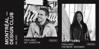 Montreal Design Club #0021 - David Roger and Julie Tzeng