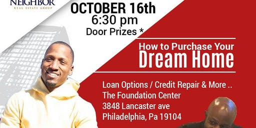 The Key Steps to Home Ownership - Free Information, Food and Door Prizes