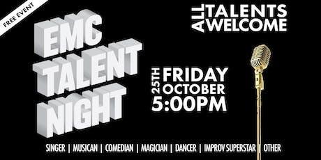 EMC Talent Night tickets