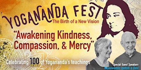Yogananda Fest 2020: Awakening Kindness, Compassion, & Mercy tickets