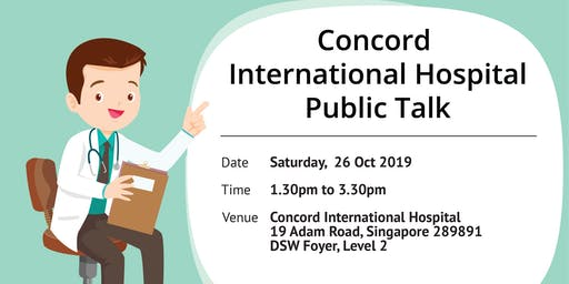 Public Talk about coping with gallstone disease, fibroids and endomestriosis, 26 Oct 19 (Sat), 1.30pm to 3.30pm