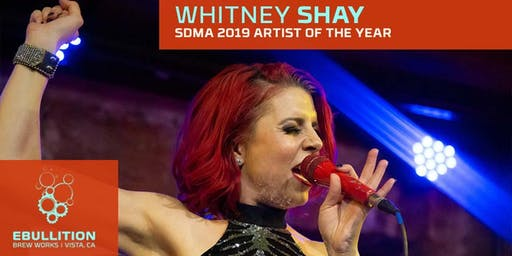 Whitney Shay S.D. Music Awards Artist Of The Year At Ebullition Brew Works