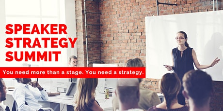 Speaker Strategy Summit tickets
