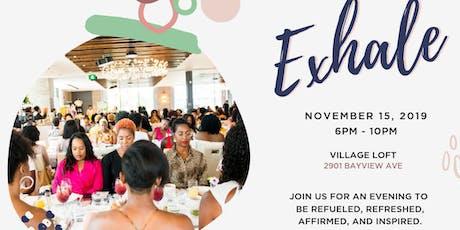 Exhale - A Black Beauty Brunch Wellness event tickets