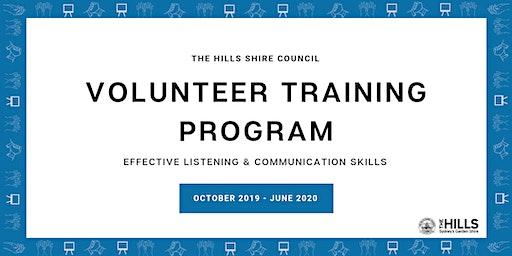 Effective Listening & Communication Skills