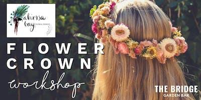 Flower Crown Workshop with Ahimsa Bay Floral Design