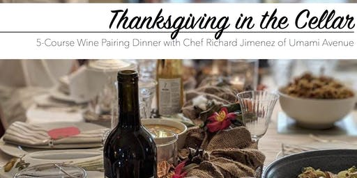 Thanksgiving in the Cellar