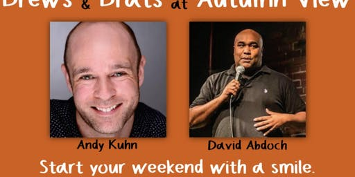Letting Out the Laughs at Brews and Brats at Autumn View