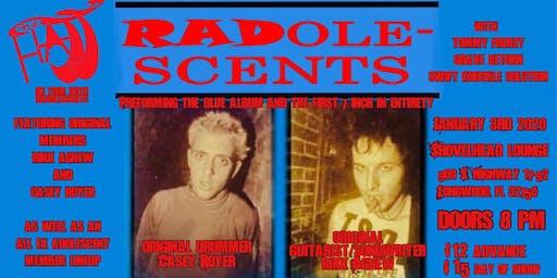 Radolescents w/ The Hajj, SKS, Tommy Frenzy, Grave Return