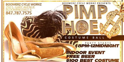 Pimp N Hoe Costume Ball *Free *Beer Oct. 19th