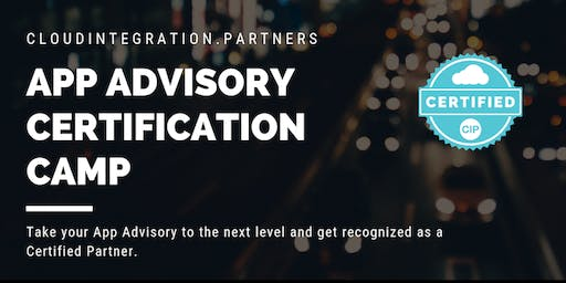 Perth CI Partners 2019 Intro to App Advisory Certification Camp